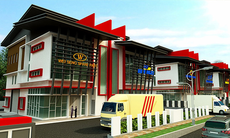 Bukit Angkat 16 unit Semi-D Factory Development
