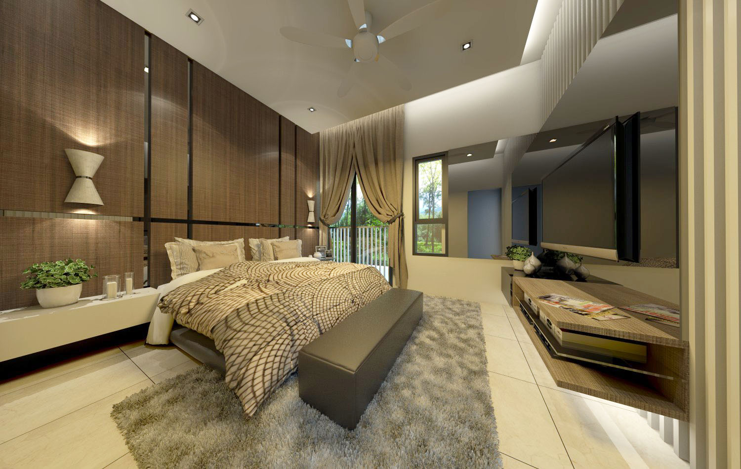 Rica Residence Show Unit : Type D