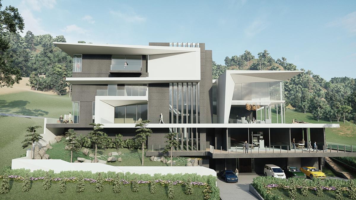 2L residence, Taman Equine